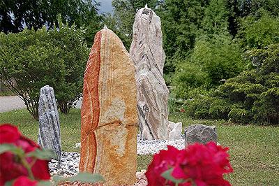 quellsteine, quellsteinbrunnen, gartenbrunnen, steinbrunnen, Garten und erstellen
