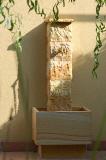 wandbrunnen, gartenbrunnen, wasserbilder für wohnraum und garten, Garten und Bauen