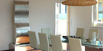 edelstahl zimmerbrunnen wasserwand kugelbrunnen aus. Black Bedroom Furniture Sets. Home Design Ideas