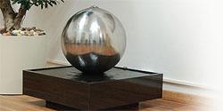 designer brunnen zimmerbrunnen edelstahlbrunnen. Black Bedroom Furniture Sets. Home Design Ideas